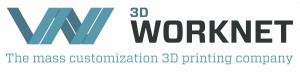 Logo 3D Worknet