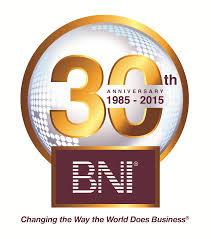 Logo BNI 30 jaar